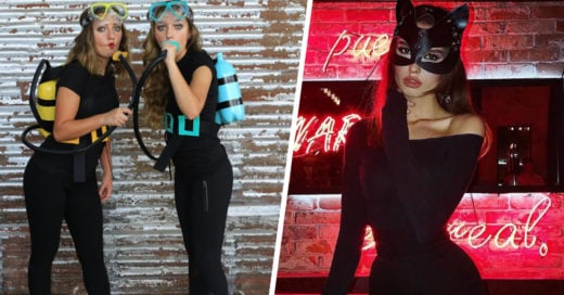 15 Sencillos disfraces con leggings para hacer de Halloween un evento casual