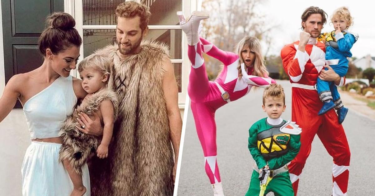 15 Disfraces para hacer match con tu familia en Halloween