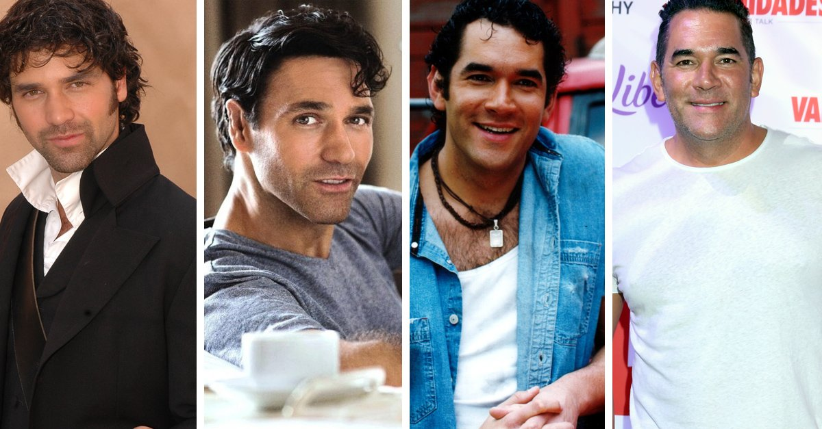 El antes y después de los galanes noventeros de telenovelas