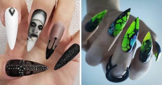 15 Diseños de uñas que causarán terror en Halloween
