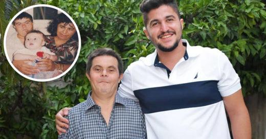 Sader es hijo de un hombre con síndrome de Down: está orgulloso de su papá
