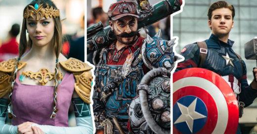 21 Cosplays que parecen salidos de cómics y videojuegos