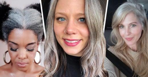 15 Mujeres que se sienten orgullosas de tener canas