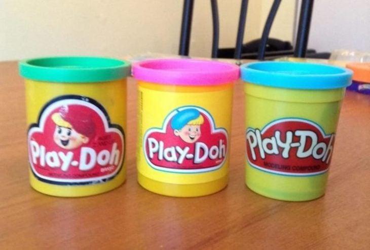 Plastilinas Play Dohl