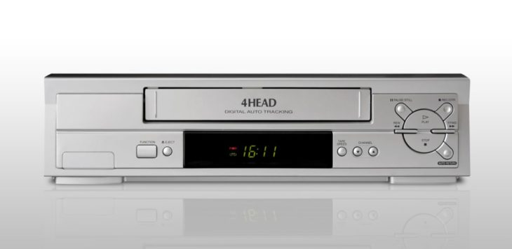 Videocasetera de VHS