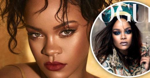 25 Veces en las que Rihanna ha coronado las portadas de la revista Vogue; ¡es imparable!