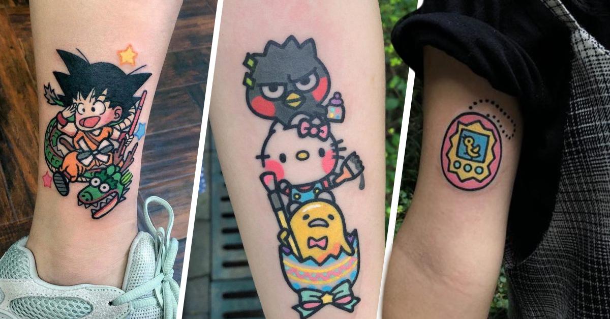 Color y ternura; artista china crea tatuajes para quienes buscan algo diferente