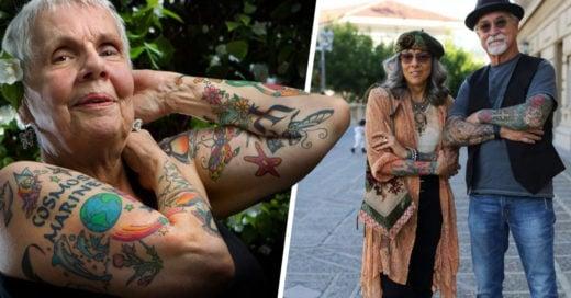 -15 abuelitos que no pierden el estilo con sus tatuajes