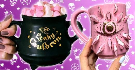 17 Mágicas tazas en forma de caldero dignas de las brujas más poderosas