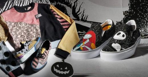Esto es Halloween; Vans lanza colección de 'El extraño mundo de Jack'