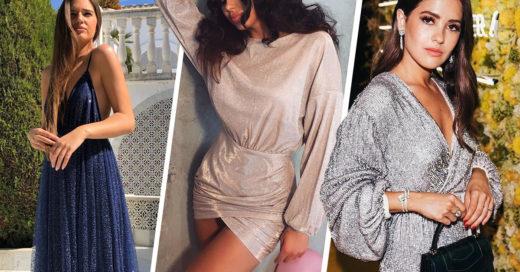 15 Vestidos con glitter para que nadie te opaque en las fiestas