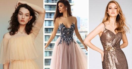 10 vestidos que te harán robar las miradas de los amigos del novio en una boda