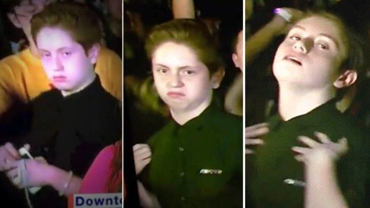 Brendan Jordan haciendo el baile con el que conquistó a las redes sociales