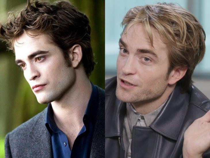 Actores de Crepúsculo antes y ahora; Robert Pattinson y Edward Cullen