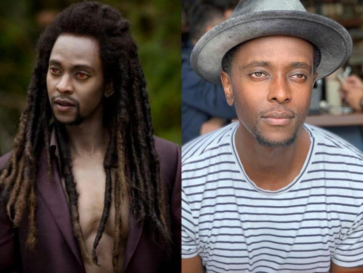 Actores de Crepúsculo antes y ahora; Edi Gathegi y Laurent Da Revin