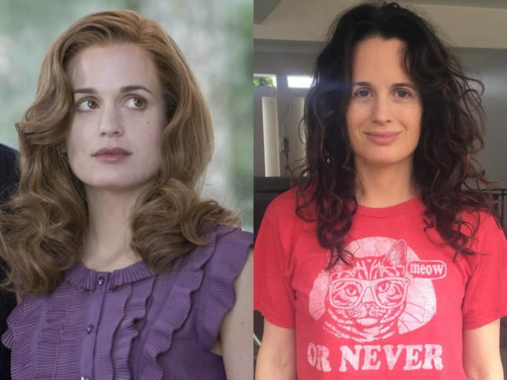 Actores de Crepúsculo antes y ahora; Elizabeth Reaser y Esme Cullen