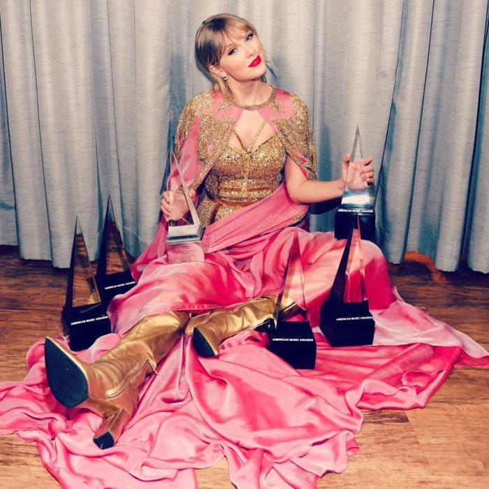 American Music Awards 2019 (AMA'S), Taylor Swift con 5 premios