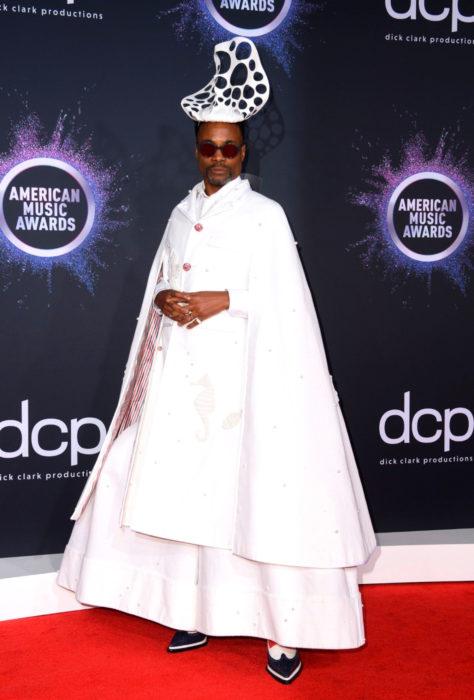 American Music Awards 2019 (AMA'S), Billy Porter vestido de blanco