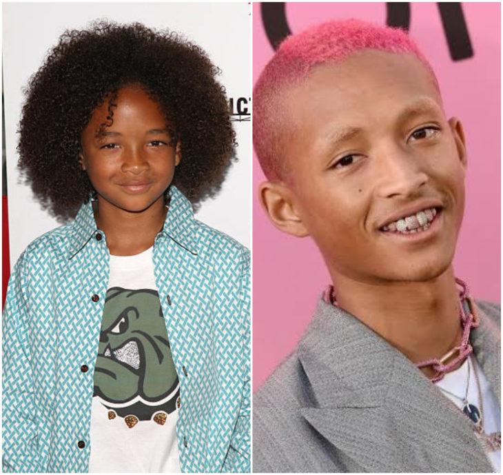 Jaden Smith 10 anos antes e depois