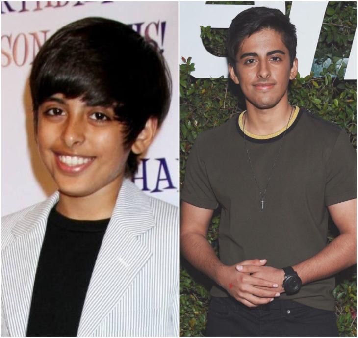 Karan Brar 10 anos antes e depois