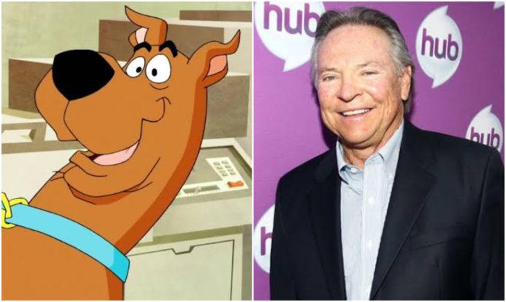 Frank Welker es Scooby Doo