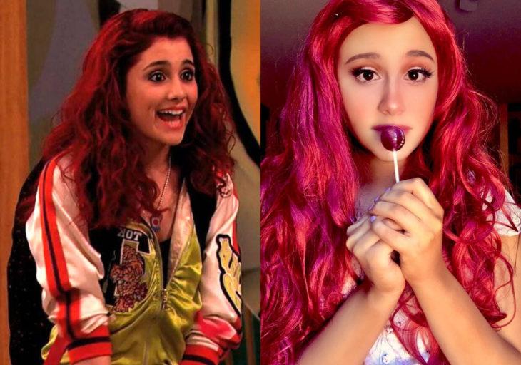 Paige Niemann, la doble de Ariana Grande; doppelgänger; Cat Valentine