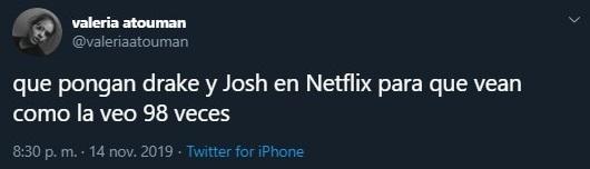 Tuit sobre el regreso de Drake y Josh a Nickelodeon