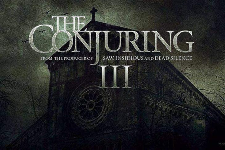 Poster de la nueva película de El Conjuro 3