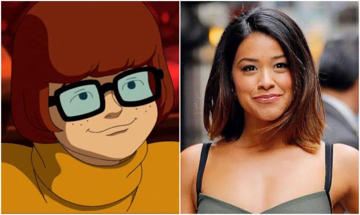 Gina Rodriguez coomo Vilma en Scooby Doo