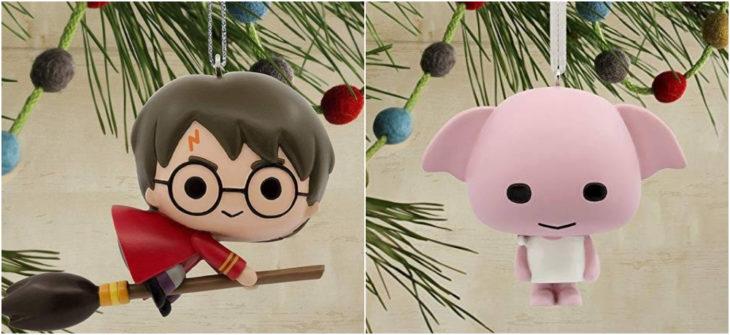Esferas navideñas de Harry Potter y Dobby