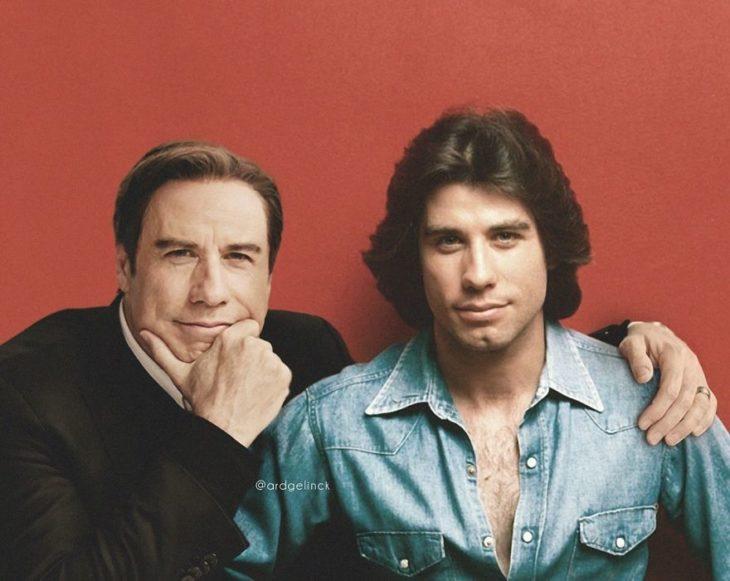 John Travolta de joven y adulto por Ard Gelinck