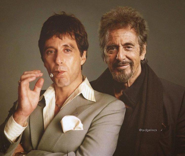 Al Pacino de joven y adulto por Ard Gelinck
