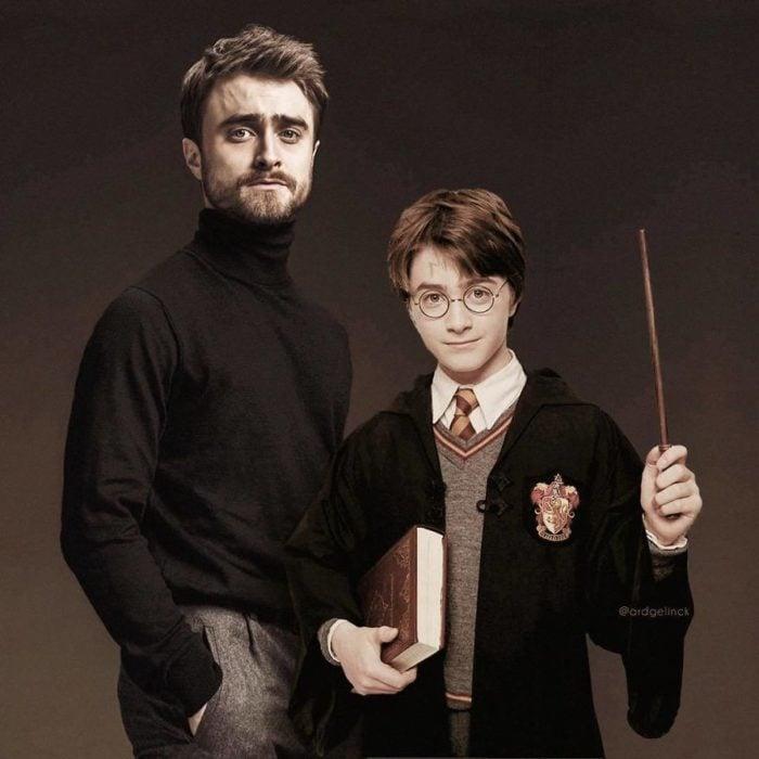 Daniel Radcliffe de joven y adulto por Ard Gelinck