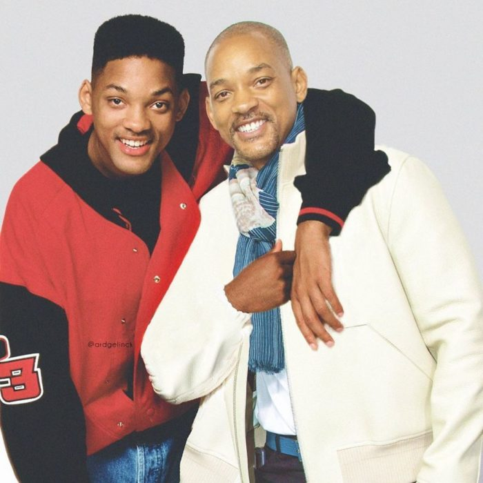 Will Smith de joven y adulto por Ard Gelinck