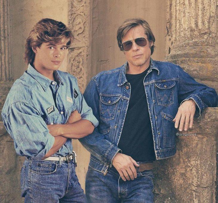 Brad Pitt de joven y adulto por Ard Gelinck