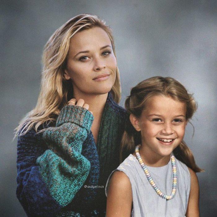 Reese Whiterspoon de joven y adulto por Ard Gelinck