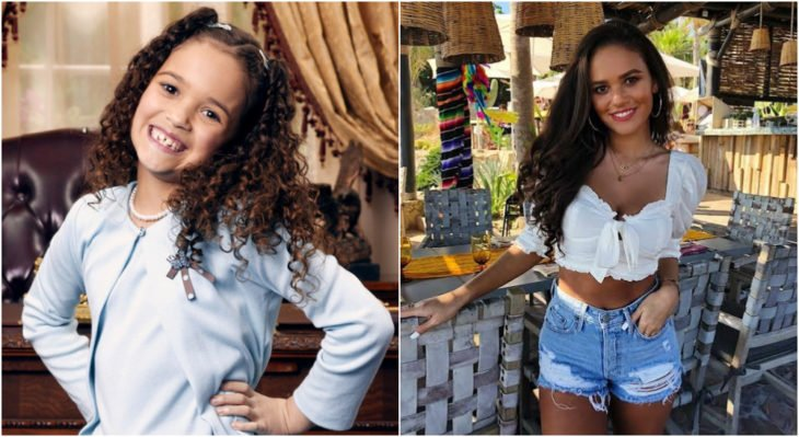 Madison Pettis en DInsey Channel