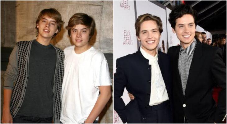 Dylan y Cole Sprouse en Disney Channel, Zack y Cody: gemelos en acción