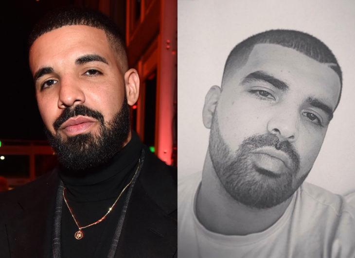 Famosos y sus doppelgängers; Drake