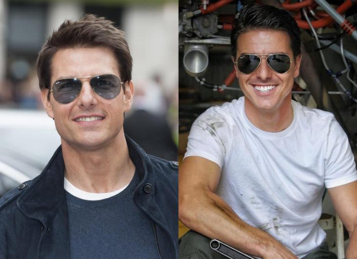 Famosos y sus doppelgängers; Tom Cruise