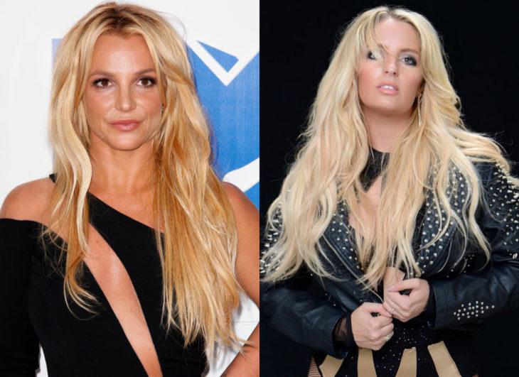 Famosos y sus doppelgängers; Britney Spears