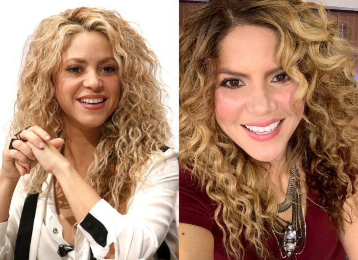 Famosos y sus doppelgängers; Shakira
