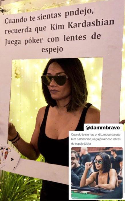 Chica celebra fiesta de cumpleaños con temática de memes y stickers; Kim Kardashian