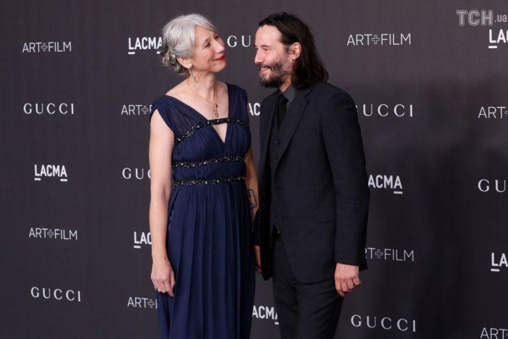 Keanu Reeves y su nueva novia, la ilustradora Alexandra Grant