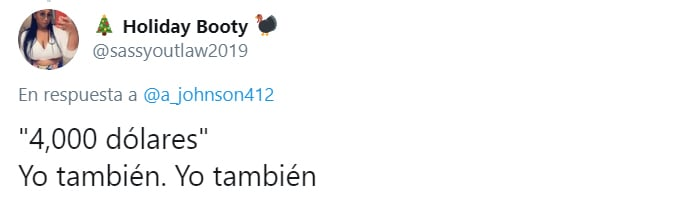 Comentarios en Twitter sobre la lista de regalos de una niña de 10 años