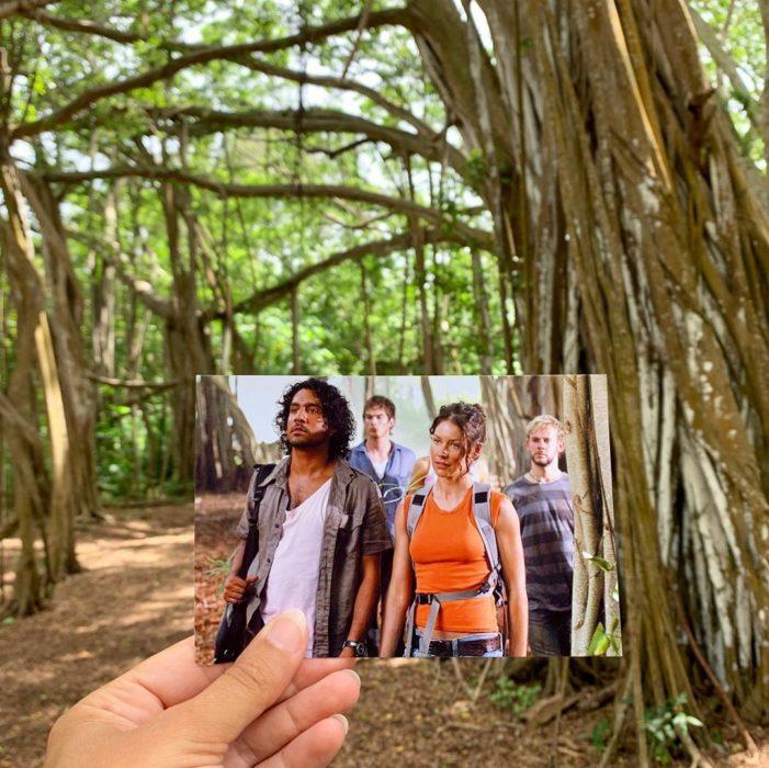 Andrea David viaja fotografiando locaciones de películas; Lost, Kate, Sayid, Charlie, Boone, Ian Somerhalder, Dominic Monaghan, Naveem Andrews, Evangeline Lilly