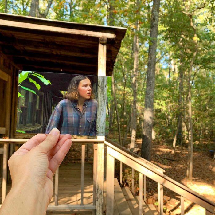 Andrea David viaja fotografiando locaciones de películas; Cabaña de Hopper, Once, Eleven, Millie Bobbie Brown