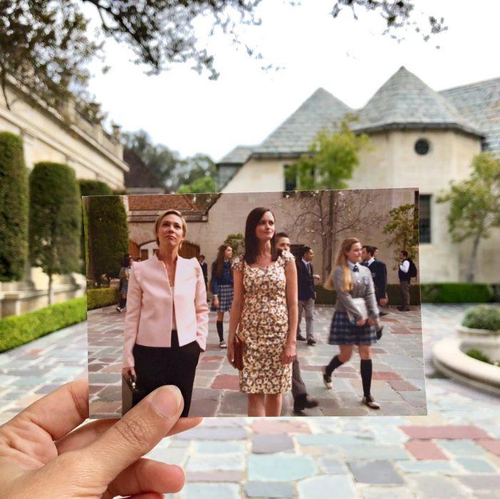 Andrea David viaja fotografiando locaciones de películas; Gilmore girls, Rory, Alexis Bledel, Paris Geller, Liza Weil