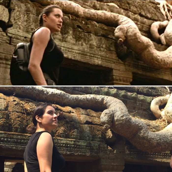 Andrea David viaja fotografiando locaciones de películas; Lara Croft, Tomb Raider