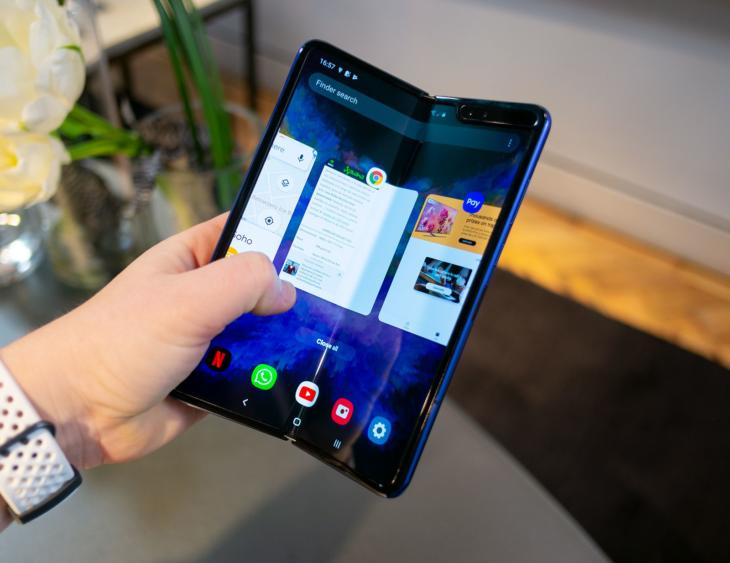 Telefono Samsung plegable